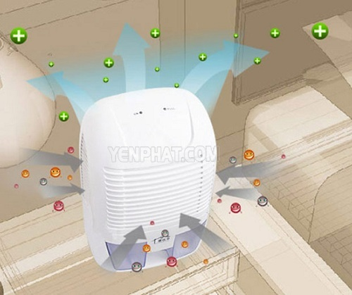 máy hút ẩm lọc không khí