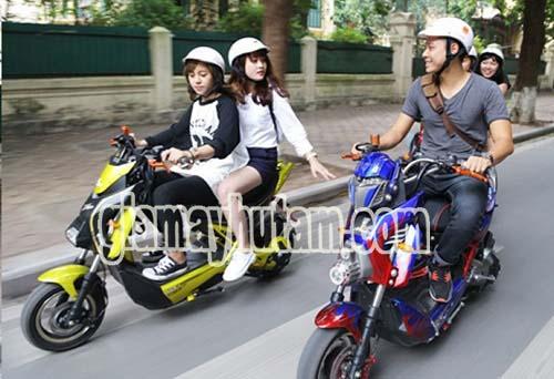 Đi xe máy và xe đạp điện không cần bằng lái