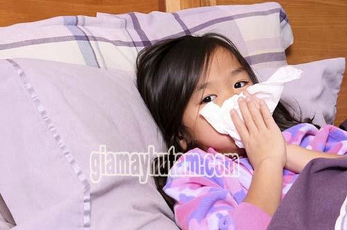 Độ ẩm không khí cao sẽ gây ra nhiều các bệnh về hô hấp...
