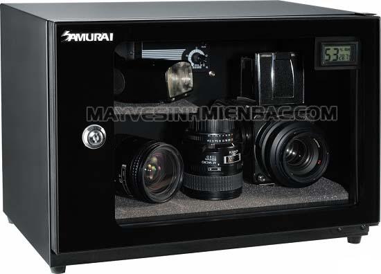 bảo quản máy ảnh bằng tủ chống ẩm