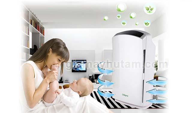 máy hút ẩm duy trì độ ẩm phòng cho trẻ sơ sinh