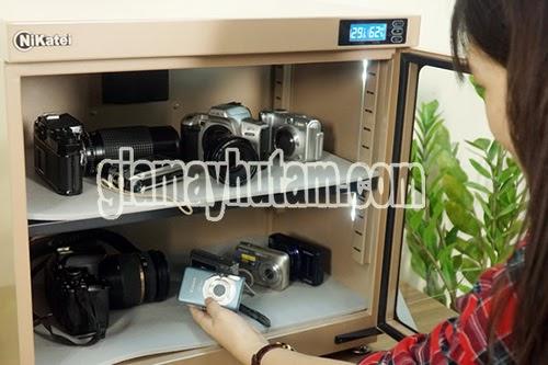 kinh nghiệm mua tủ chống ẩm máy ảnh
