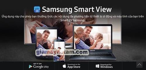 phần mềm điều khiển tivi samsung bằng iphone