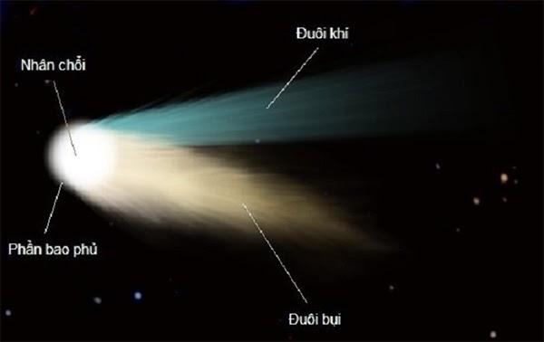 sao chổi hình thành từ gì