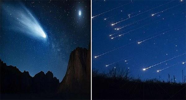 sao chổi và sao băng